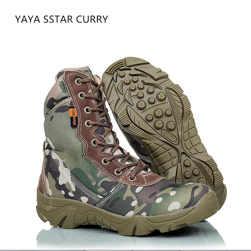 2017 new outdoor commando fighting shoes camouflage shoes men s tactical font b boots b font
