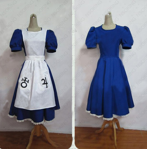 Alice Madness Returns maid outfit Cosplay Costume custom made