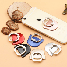 Cartoon 360 Finger Ring Mobile Phone Smartphone Stand Holder For iPhone For Xiaomi Smart Phone GPS MP3 Car Mount Stand
