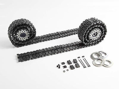Mato 1/16 USA M26 Pershing RC Tank Metal Tracks Sprockets Driving Wheels MT002 mato sherman tracks 1 16 1 16 t74 metal tracks
