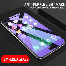 3PC/lot 9H Glass For Huawei Honor View 20 10 V10 9 V9 8 Lite 7A 7C Pro 7X 9H Explosion-proof Anti Blue Light Screen Protector tempered glass 9h explosion proof front screen protector for huawei honor v9 pla