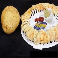 Микроволновая печь для приготовления картофельных чипсов, стеллаж, сделай сам, без жира, с низким содержанием калорий, для выпечки, кондитерские инструменты, пластиковые кухонные аксессуары, гаджеты для кухни