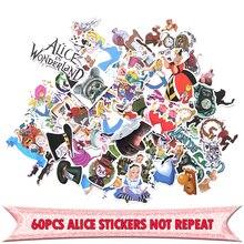 60pcs cartoon Creative badge DIY decorative stickers Cartoon style for PC wall notebook phone scrapbooking E0005