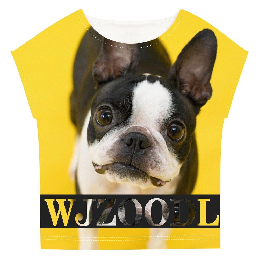 Baby Mädchen Kleidung Kinder Shir Sommer Syle Kinder Shir Französisch Bulldog Prin Mode Mädchen Schöne Nizza Ees Große Marke