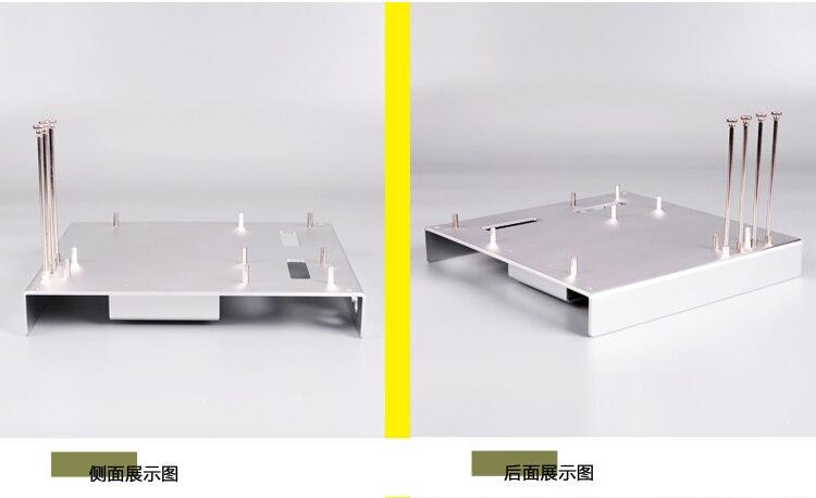 metal para m atx itx htpc placa-mãe diy mod