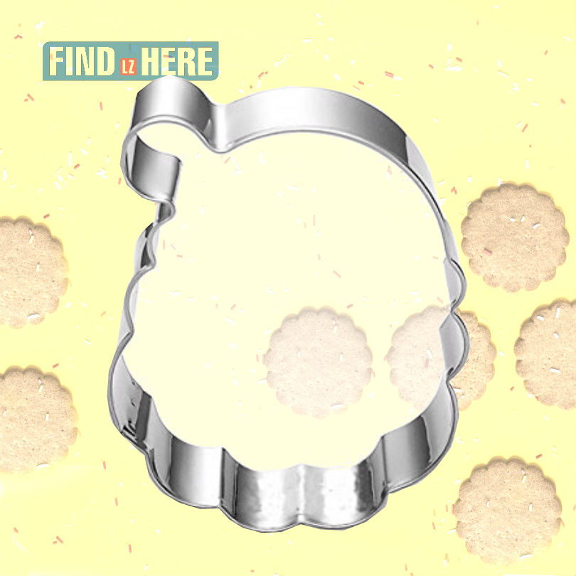 Cookie Cutter Mould Stainless Steel Baking Tools Santa Claus Shape christmas DIY Baking Biscuit Cookie Cutter Mold Bakeware