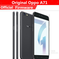 """International Version Oppo A71 4G LTE Mobile Phone MTK6750 Octa Core Android 7.1 5.2"""" IPS 1280X720 3GB RAM 16GB ROM 13.0MP OTG 1"""
