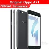 Oppo-teléfono inteligente A71 versión Global, smartphone con 4G LTE, MTK6750, ocho núcleos, Android 7,1, pantalla IPS de 5,2 pulgadas, 1280X720, 3GB de RAM, 16GB de ROM, cámara de 13.0MP, OTG