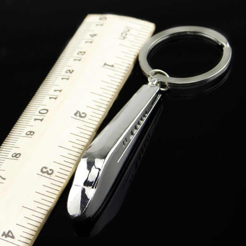รถจัดแต่งทรงผมรถไฟความเร็วสูง Key แหวนจี้พวงกุญแจรถยนต์พวงกุญแจสำหรับ Buick Chrysler Daihatsu Hyundai LADA Mazda KIA
