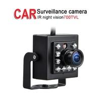 Free Shipping HD Mini 700TVL Bus Camera,1/3 CCD IR Night Vision,AV/Aviation/BNC Camera for Truck Vans Taxi DVR Surveillance