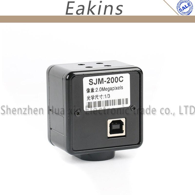 2.0MP 1/3 COMS Industrielle USB Vidéo Caméra Électronique Numérique Oculaire Microscope Mesure Logiciel Pour Gagner 10 7 8