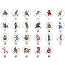 лучшая цена NTAG215 Zelda NFC Card 20 Heart Wolf Revali Mipha Daruk Urbosa For amiibo Game the Legend of Breath of the wild NS Switch 23pcs