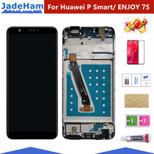 For Huawei P Smart LCD Display Touch Screen Digitizer Assembly For Huawei P Smart LCD With Frame FIG LX1 L21 L22 Screen Replace for huawei p smart 2019 lcd display touch screen digitizer assembly pepair parts p smart 2019 display with frame replacement