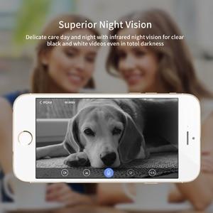 Image 4 - SDETER Drahtlose WiFi Kamera IP 1080P 720P Pet Kamera Sicherheit CCTV Überwachung Kamera P2P Nacht Vision Baby Monitor indoor Cam