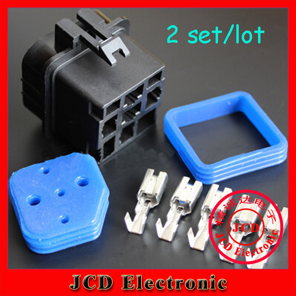 2 sets Automotive relays waterproof socket waterproof plugging relay socket 12V 2015 new arrival 12v 12volt 40a auto automotive relay socket 40 amp relay