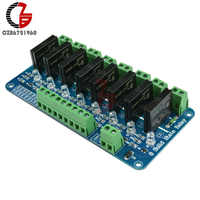 DC 5V 8 Channel SSR Solid State Relay Module Board For Arduino G3MB-202P