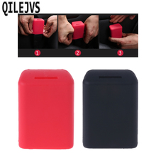 QILEJVS Universal Silicone Car Seat Belt Buckle Covers Clip Anti-Scratch Cover