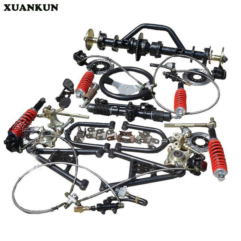 Модификация XUANKUN мотоцикла передний и задний мост задний мост в сборе