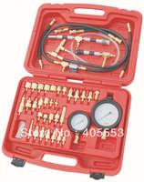 Professional 42 PCS Fuel Injection Pressure Test Tool Kit Set Tester Garage Auto WT04A3016