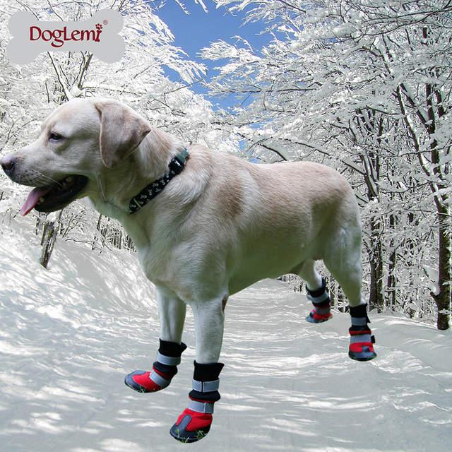 Hoge Kwaliteit Waterdichte Hond Schoenen Reflecterende Hond
