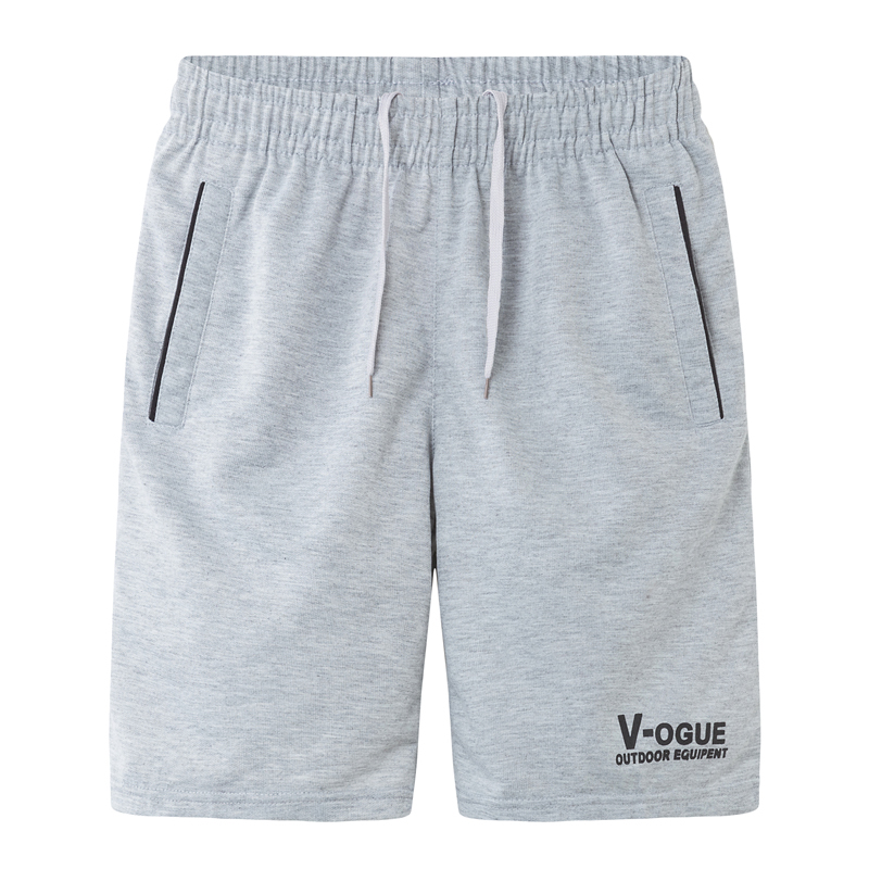 Man Shorts Summer 2019 New Spring Male Knee-length Casual Knitted Teenage Boy Shorts Fashion Red Orange Black Gray