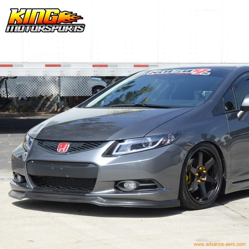 Fit Para 2012 2013 Honda Civic 2 Portas Coupe Ikon Front Bumper Lip Spoiler  Queixo Em Amortecedores De Automóveis U0026 Motos No AliExpress.com | Alibaba  Group