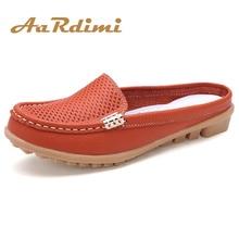 AARDIMI/летние женские шлепанцы; вьетнамки из натуральной кожи для отдыха; женская обувь на плоской подошве; слипоны на плоской подошве; женские сабо; женская обувь