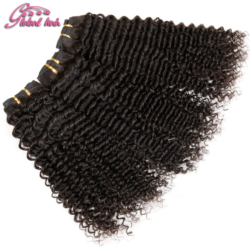 Gluna Hair products Best Vendor Brazillian Deep Curly Virgin Human Hair Extension Machine Double Weft Fast
