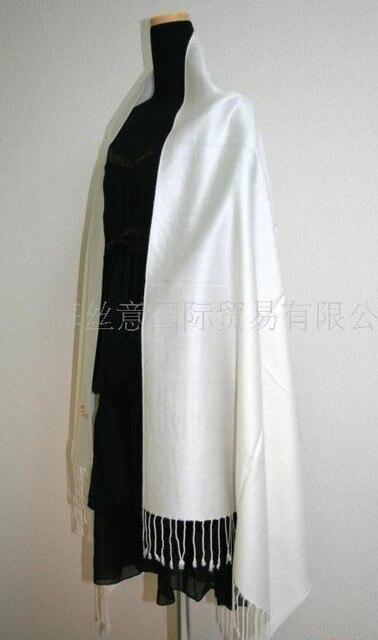 Белый Марка HOT Плед Шарф Кашемира Пашмины женская дамская Шаль Бесплатная Доставка SW15