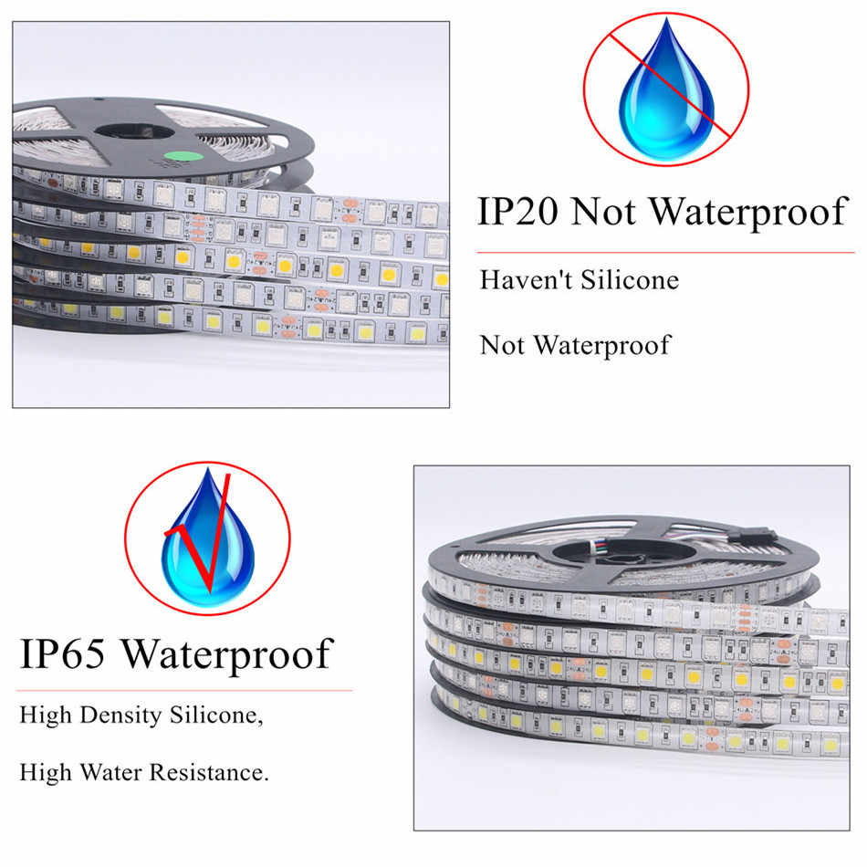 Detail Feedback Questions About Beilai Smd 5050 Rgb Led Strip With Light Lifier On Strips Wiring Diagram Waterproof Dc 24v 5m 300led 60led
