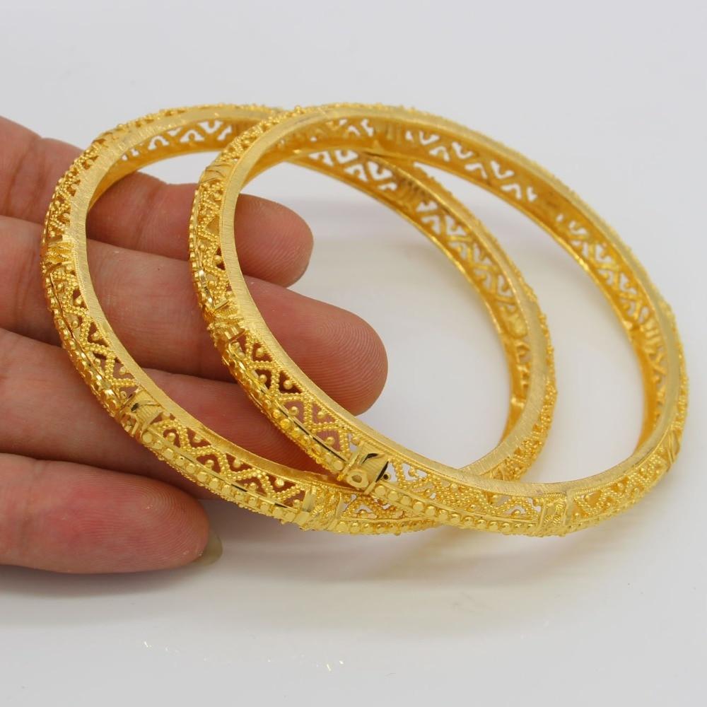Aliexpress.com : Buy NEW Dubai Gold Bangles Women Men 24k ...