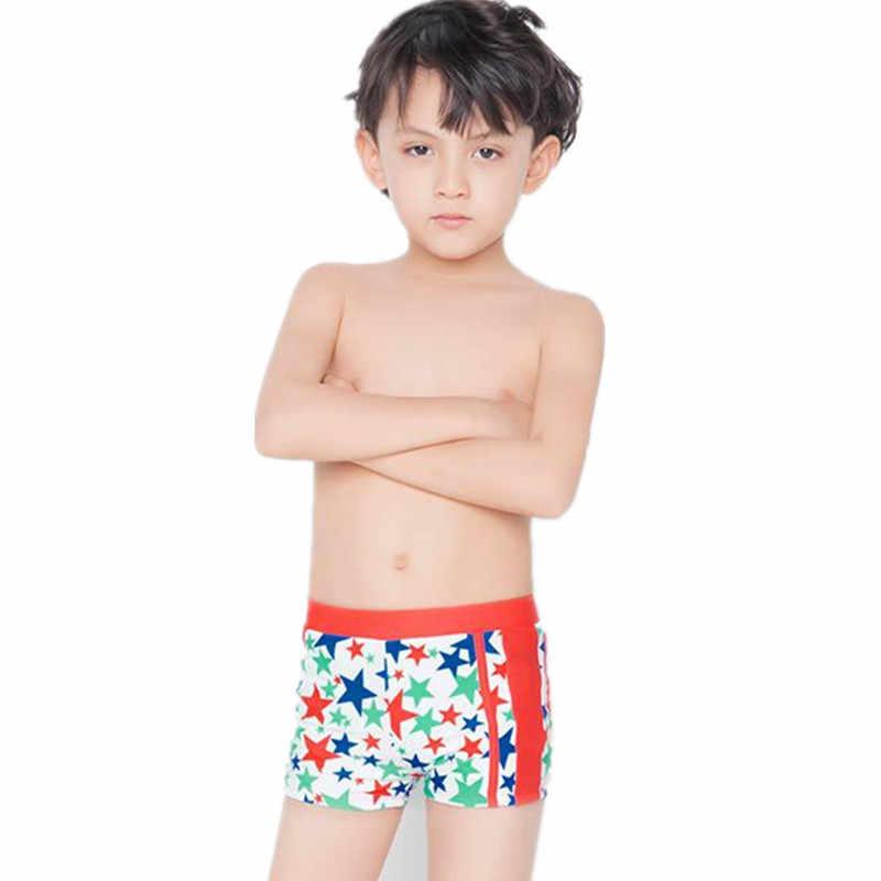 441364f47dad6 Funfeliz Kids Swimwear 5-15 Yaers Boys swimming trunk Teenage boy Bathing  Suit Blue Red