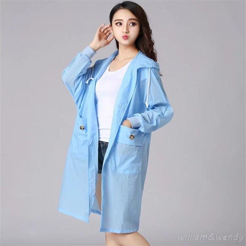 font b Women b font Summer Fashion Long Sleeve Casual Solid Color Rash Guards Sunproof