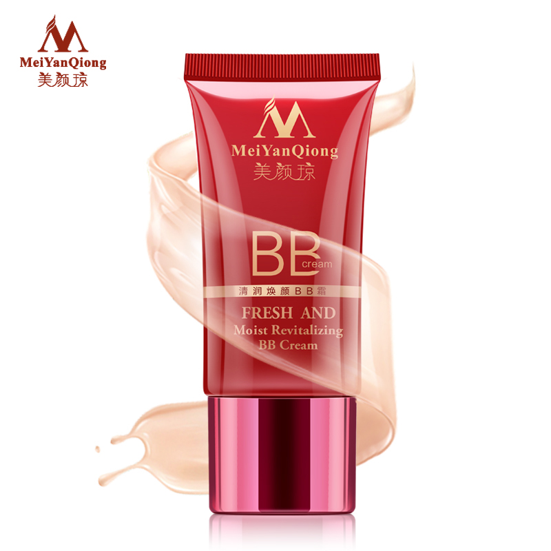 MeiYanQiong Fresh And Moist Revitalizing BB Cream Makeup Bare Whitening Face Beauty Compact Foundation Concealer Skin Care