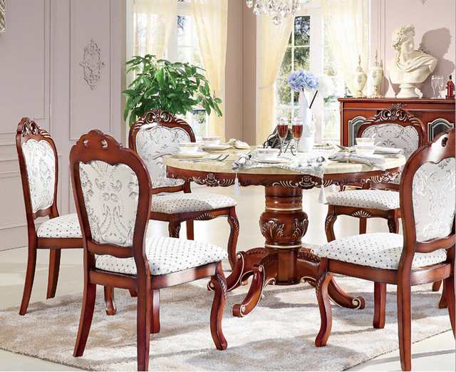 Mesa de comedor clásico con alta calidad en Mesas de Comedor de ...