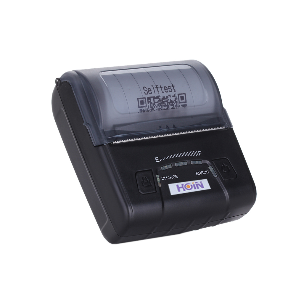 HOP-E300 Portable Thermal Receipt Printer USB Wired Connection label printers for supermarket stores razor e300 серый