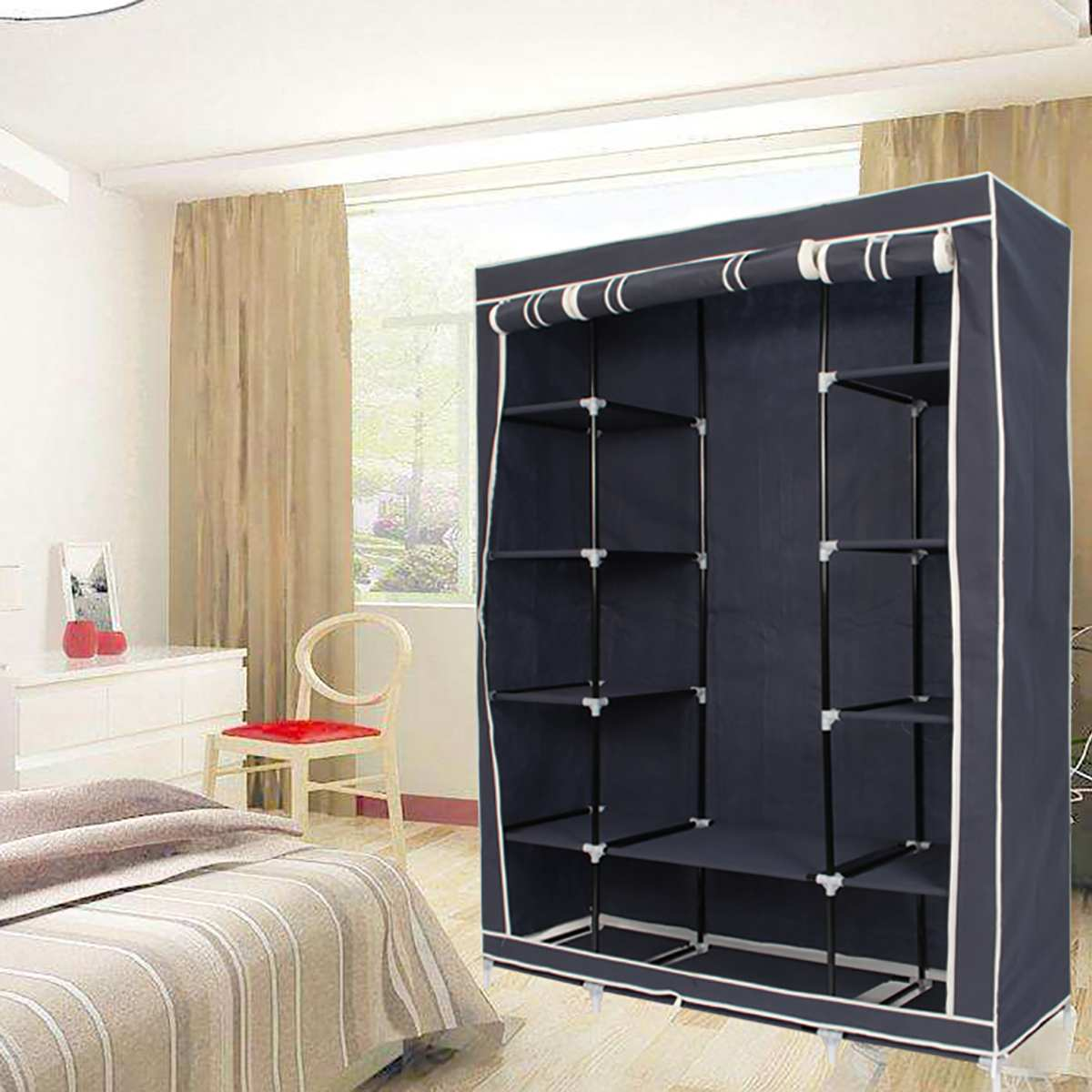 Bedroom Furniture 2019 Diy Non Woven Fold Portable Storage