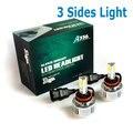 72 W 6600LM H8 H9 H11 auto Kits de Faros 3 chips de led 12 V DC de alta potencia H7 HB3 HB4 9005 9006 LLEVÓ La Linterna Chip