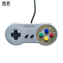 Clásica Joystick/controlador de juegos USB Gamepad controlador SNES juego pad para Windows PC MAC ordenador Control Joystick