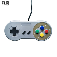 classical USB Controller Gaming Joystick Gamepad Controller for  SNES Game pad for Windows PC MAC Computer Control Joystick wired usb gamepad joystick for n64 classic game controller joypad for windows pc mac control