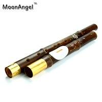 يونان الطبيعية الأرجواني عزف الفلوت الخيزران bawu العمودي f/g مفتاح flauta bawu الصينية صك