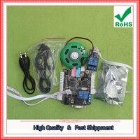 Free Shipping 1pcs Voice Recognition Module Voice Module Non Specific Voice Recognition Voice Control Module C5A2