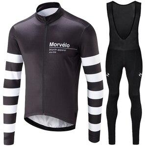 Image 4 - Runchita 2020 winter thermal fleece long sleeve set bicicleta maillot ciclismo kit bike winter cycling clothing Ropa de invierno