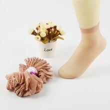 20 шт = 10 пара/лот US$0,14 пара Горячая Распродажа крутые дышащие летние стильные сексуальные черные кожаные носки однотонные женские нейлоновые носки для девочек
