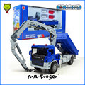 Mr.Froger Atego With Crane model Refined metal alloy Engineering Construction vehicles truck Decoration Classic children Toy