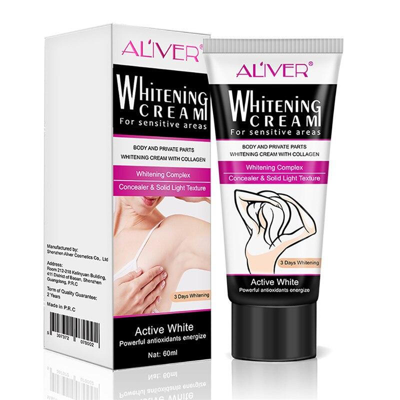 918301a44 New Underarm Whitening Cream Body Dark Skin Armpit Legs Knees Private Parts  Bikini Underarm Inner Thigh Body Whitening Cream