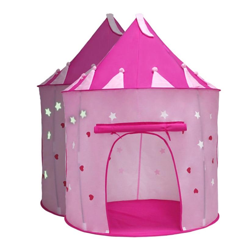 Kids Play Tent Portable Folding Princess Castle Tent Kids Children Play House