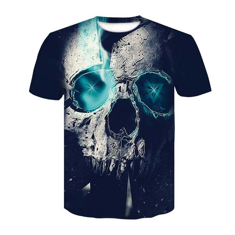 f853f1f83 Detail Feedback Questions about New Hot Men Summer 3D t shirt Street  Fashion models love fashion skull soul chariot Rock T shirt Men Clothes on  ...