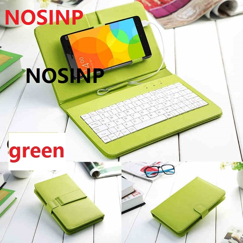 NOSINP ZTE sailing 4 case General Keyboard Holster for Android OS 5.1 5inch <font><b>2K</b></font> 1280X720 Mobile <font><b>phone</b></font> by free shipping