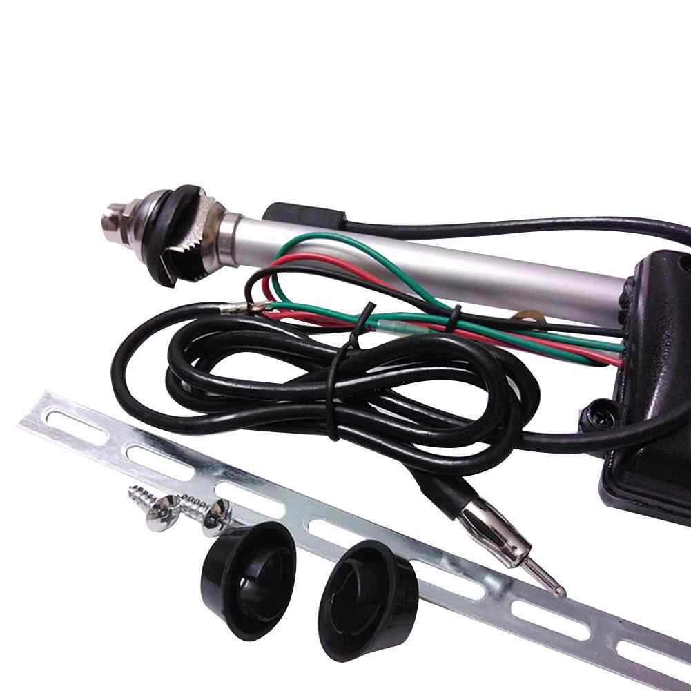 small resolution of  car auto telescopic antenna universal auto truck vehicle roof radio fm antenna aerial amplifier booster car